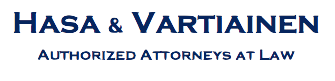 HASA & VARTIAINEN — Authorized Attorneys At Law